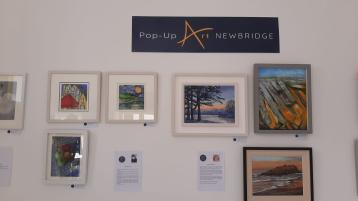 Pop Up Art exhibitions now on in Newbridge and Naas