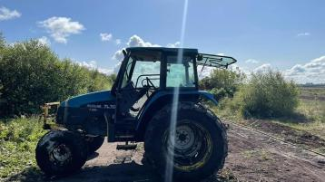 Gardaí on the trail of tractor vandals after two machines damaged extensively
