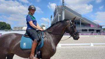 Kildare Olympian Heike Holstein misses out on dressage final place