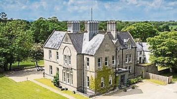 Firmount House, De Valera's gothic 'safe house', in Clane is put up for sale