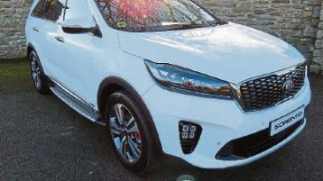 Kia Sorrento is the ultimate family car, a huge seven seater
