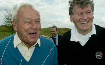The late Arnold Palmer's K Club connection