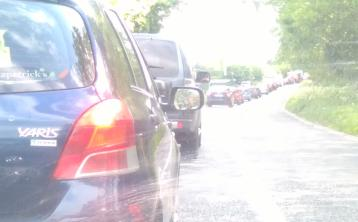 TRAFFIC ALERT: Major delays heading out of Naas this evening