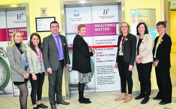 Campain launched to promote importance of mealtimes at Naas General Hospital