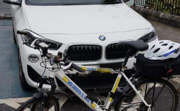 Kildare gardai nab car parked in disabled bay