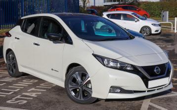 Kildare buyers flock to buy Nissan Leaf