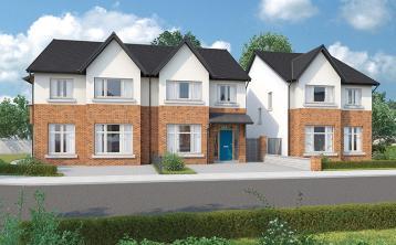 Prestigious development of 14 semi-detached and detached homes on market in Kildare Town