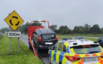 Driver reversed 1km on hard shoulder to avoid Kildare Garda checkpoint