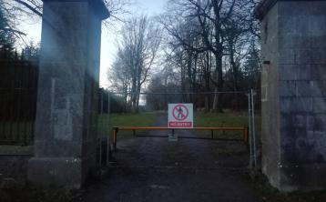 'Anger' over fence at access gate to Emo Court locked down in Level 5