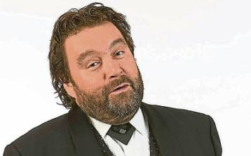 Funnyman Brendan Grace at Keadeen Hotel, Newbridge, in January