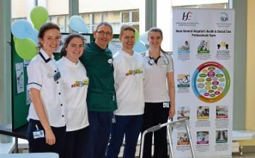 "Naas Hospital launches ""End PJ Paralysis"" campaign urging patients to be mobile"