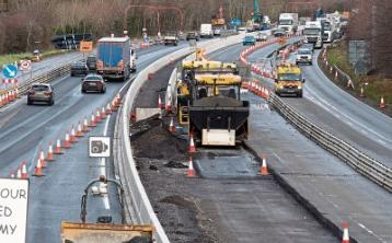 New surface opens as part of M7 widening