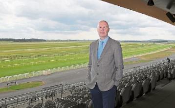 Curragh racecourse boss Derek McGrath leaves