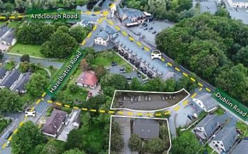 Celbridge site for sale with planning for six new houses