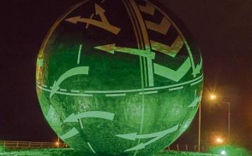 Naas' Big Ball to turn green on March 17