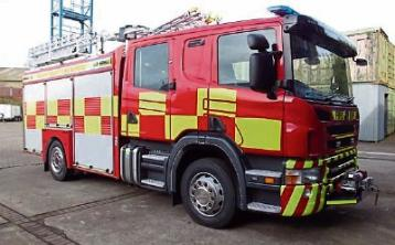 Firefighters tackle blaze on bogland and forestry in west Kildare