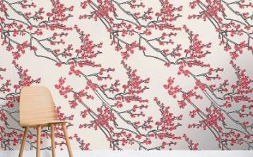 Interiors: Dramatic floral murals to transform your home