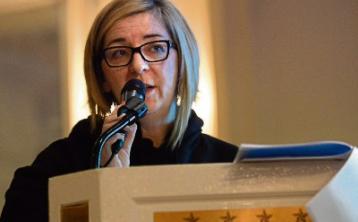 Regina Casey, takes the Chair of Leinster Football Association Junior Council