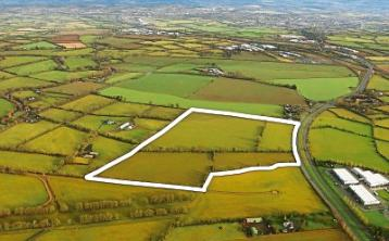 Two strategic Naas land holdings sold for over €2m