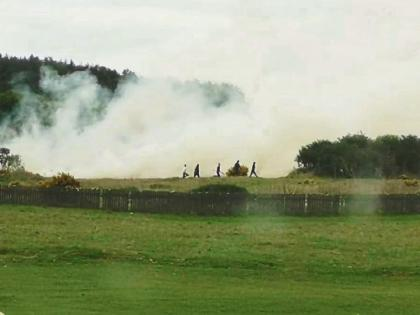 Changes away from the traditional use of the Curragh - NPWS