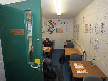 When the bell goes, the school building sways - The Irish Times