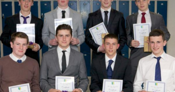 Top Naas CBS students recognised - Leinster Leader