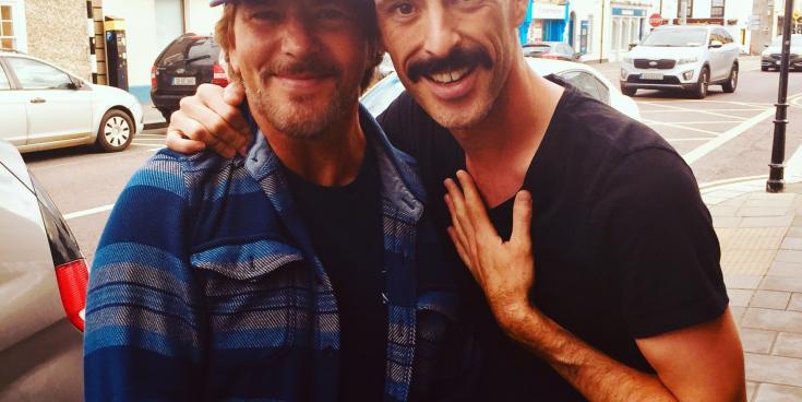 When Pearl Jam's Eddie met Kildare's own Freddie