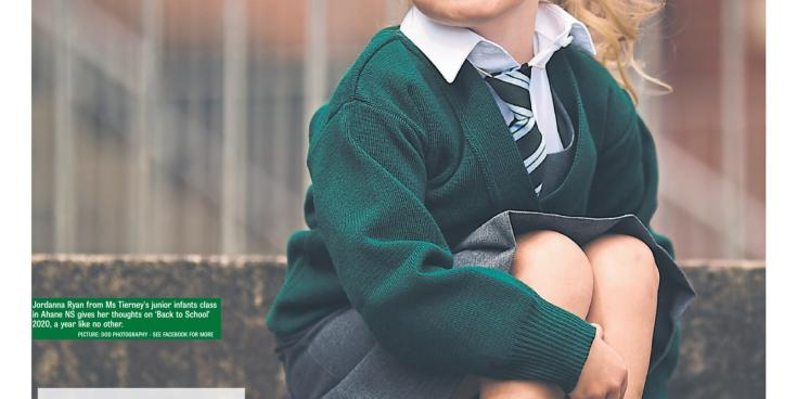 Our first days at school! Limerick Leader special supplement will lift your spirit