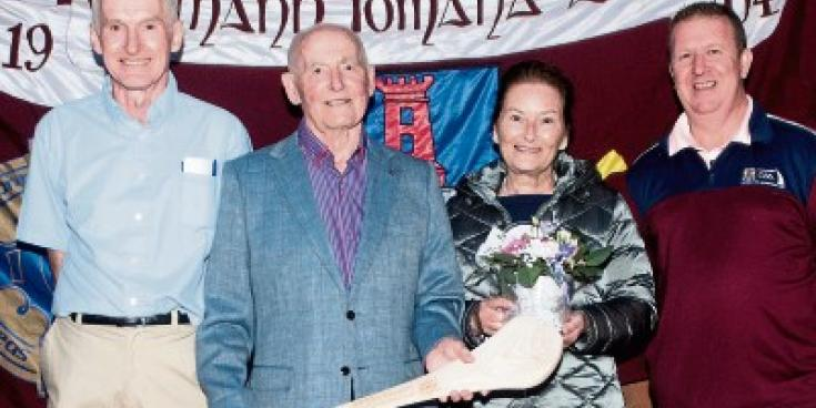 Athy locals bid fond farewell to GAA stalwarts Gerry and Eileen Gilroy