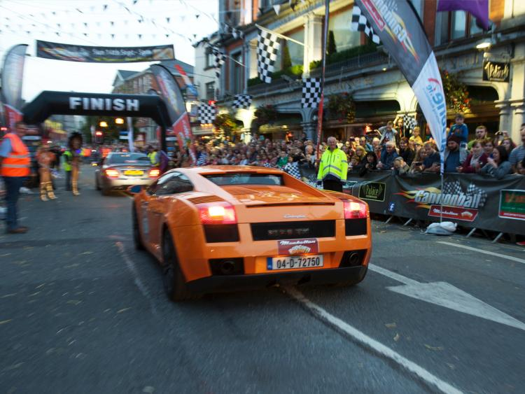 Revealed Finish Line Of Spectacular Cannonball Car Run To Be In Offaly 2019