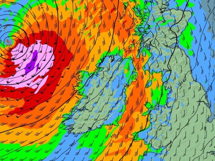 Status Orange weather warning for Galway extended into Friday evening