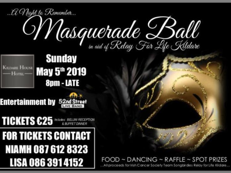 9213cd35ff78 Masquerade ball in Kildare town in aid of Relay for Life - Leinster ...