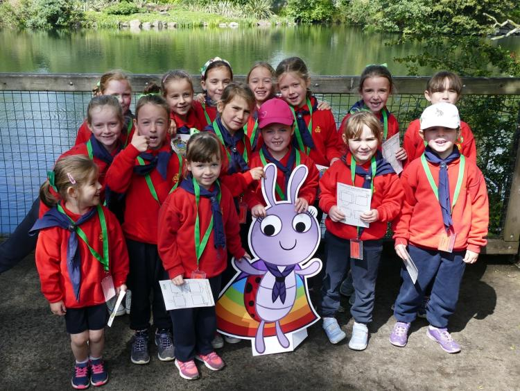 Newbridge Girls Among 300 To Celebrate Ladybirds 30th
