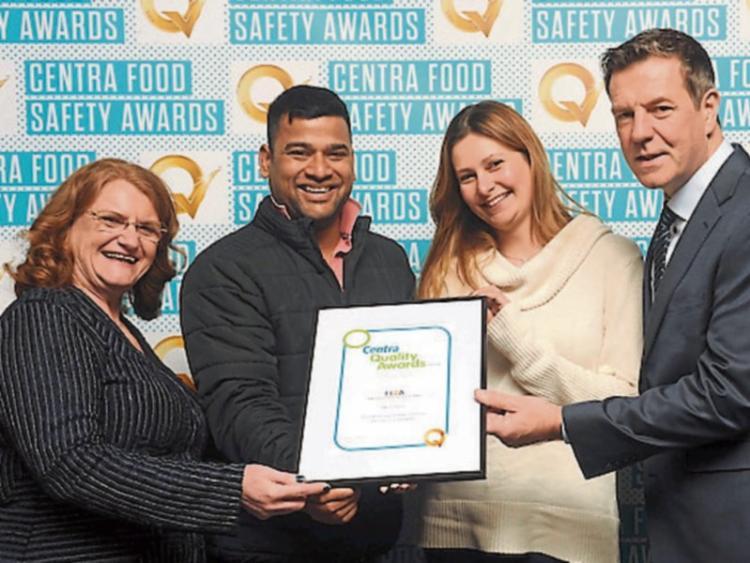 four kildare centra stores win top q mark award at prestigious