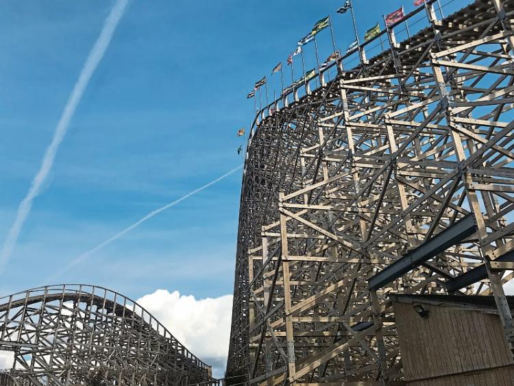 Review Life Is A Roller Coaster At Tayto Park Leinster Leader