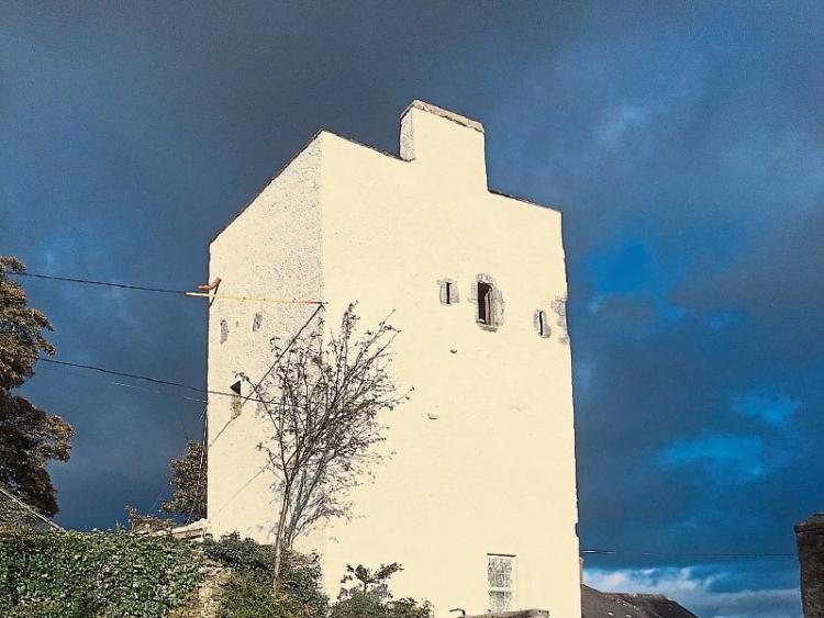 Scaffolding Comes Off Kildare Castle Leinster Leader