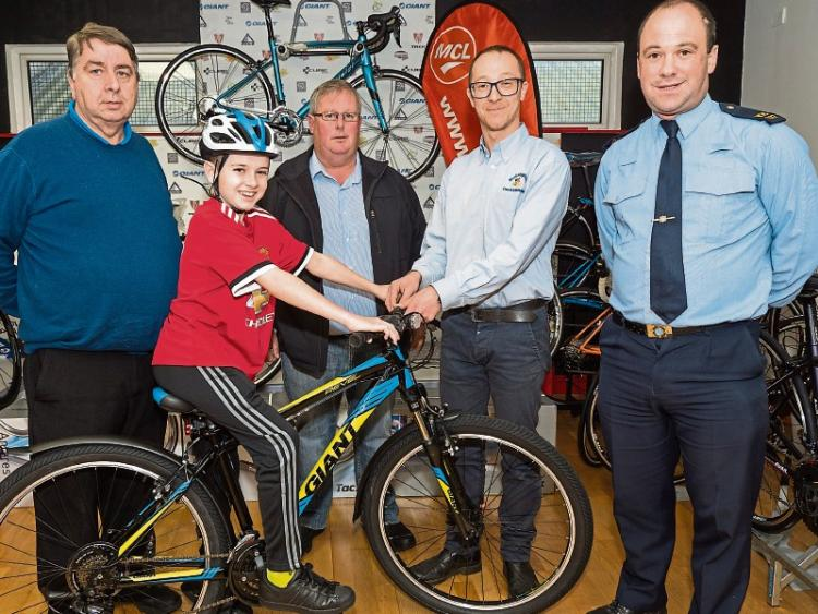 ea5bc041db50b A new bike for brave Philip Walsh from Monasterevin - Leinster Leader