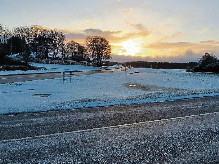 WEATHER ALERT Status orange snow and ice warning for Kildare this weekend