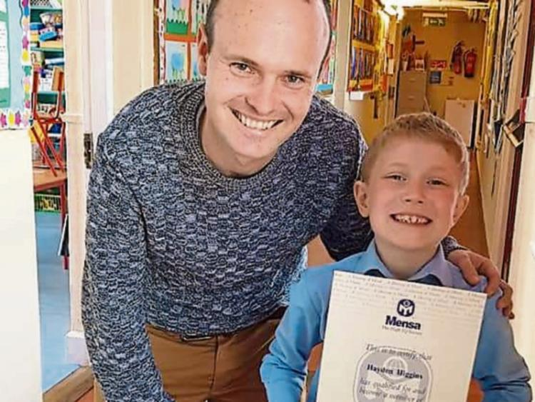 Athy boy (7) joins high IQ society Mensa