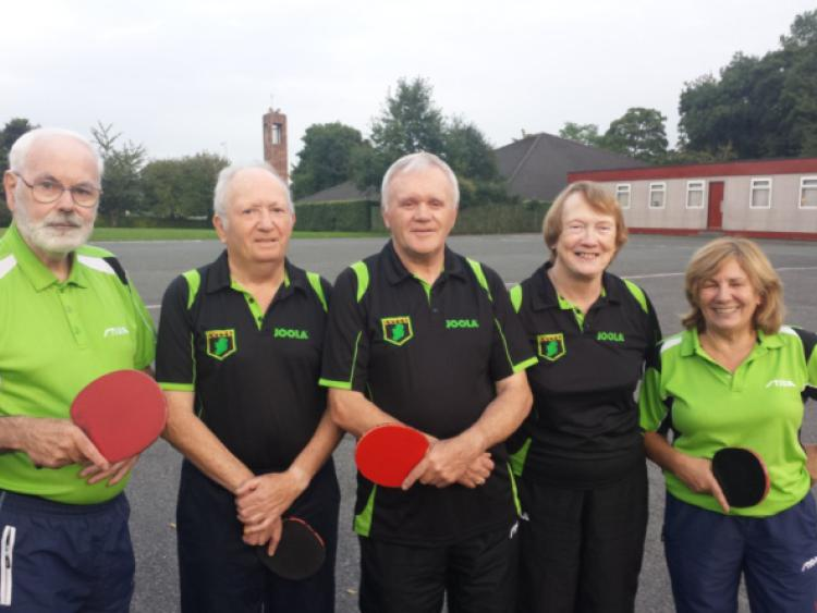 Leixlip table tennis vets scottish trip leinster leader - Table tennis table ireland ...